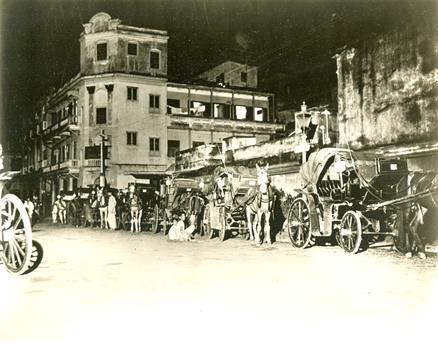 Night fall in Calcutta