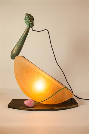 ABSTRACT BUDDHA LAMP