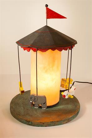 MERRY-GO-ROUND LAMP