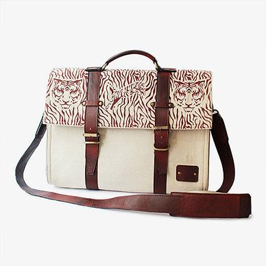 Classy Canvas Laptop Bag