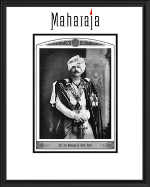 H.H. THE MAHARAJA OF COOCH BEHAR
