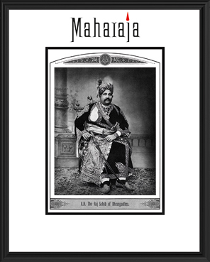 H.H. THE RAJ SAHIB OF DHRANGADHRA