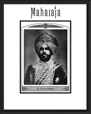 H.H. THE RAJA OF KAPURTHALA