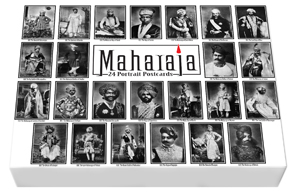 A GIFTBOX OF 24 PORTRAIT  POSTCARDS OF MAHARAJA
