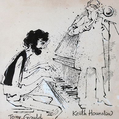 Tony Gould and Keith Hounslow