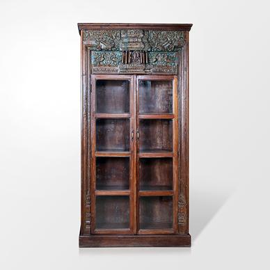 Salvaged Old Burmah Teak Door