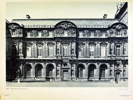 PARIS - Facade Henri II du Palais du Louvre