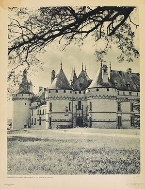 CHAUMONT-SUR-LOIRE (Loir-et-Cher) - Vue generale du Chateau