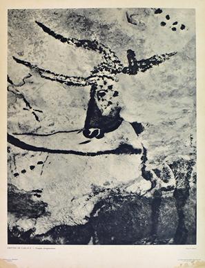 GROTTES DE LASCAUX - Fresques aurignaciennes