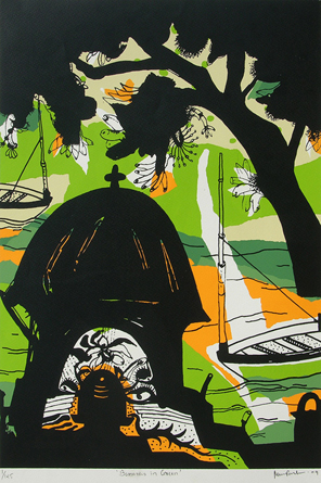 BANARAS IN GREEN