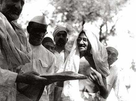 Mahatma Gandhi in Untmanzai
