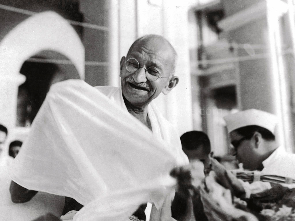 the non violent movement of mohandas k gandhi in india Gandhi on nonviolent protest mohandas k gandhi 1 mohandas gandhi, leader of india's nonviolent movement for self disaffectionist and non-cooperator.