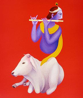 Manjit Bawa - Limited edition offset prints
